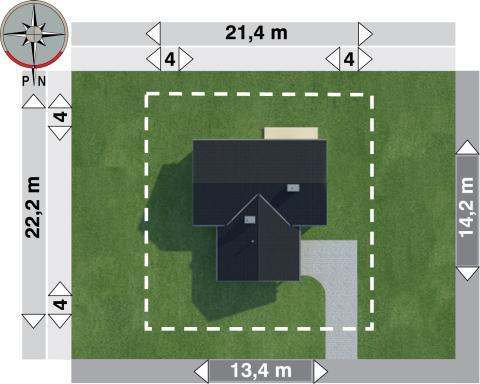 Projekt domu Żuczek 2.2