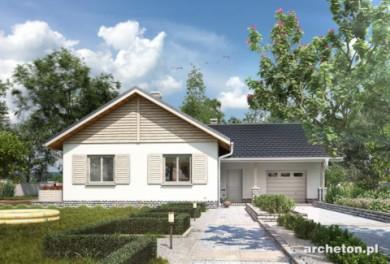 Projekt domu Żuczek-2