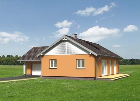 Projekt domu Żuczek Eko