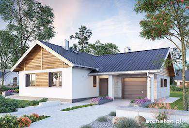 Projekt domu Żuczek