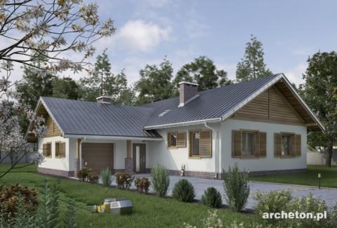 Projekt domu Żuczek As