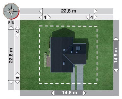 Projekt domu Żuczek Sto