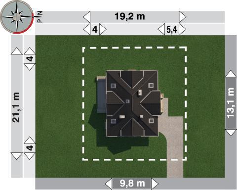 Projekt domu Zula