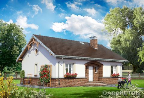Projekt domu Zuza
