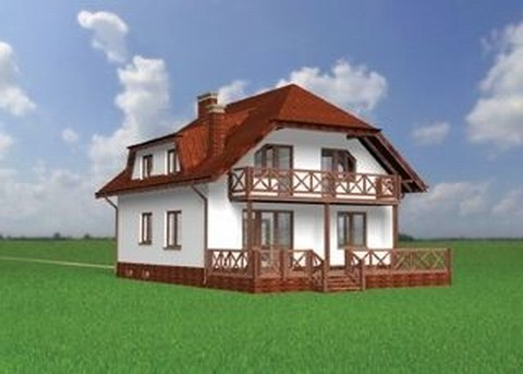Projekt domu Zuzanna