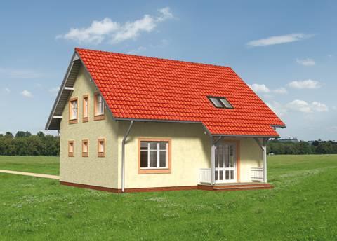 Projekt domu Żwirek