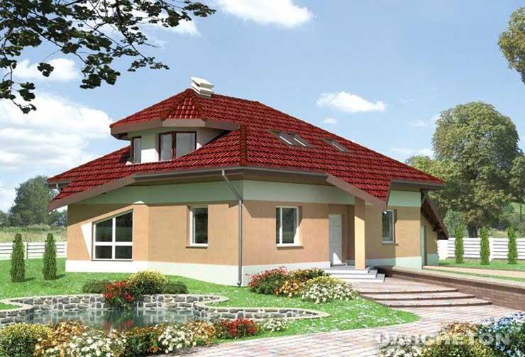 Projekt domu Zygzak - dom o dynamicznych kształtach i nieco drapieżnym charakterze